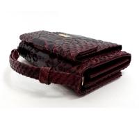 Клатч- портмоне со змеиным принтом