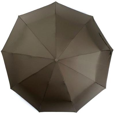Зонт классический коричневый
