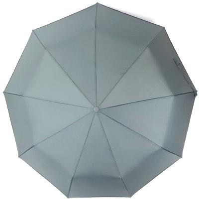 Зонт классический серый