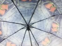 Зонт-полуавтомат женский 7003