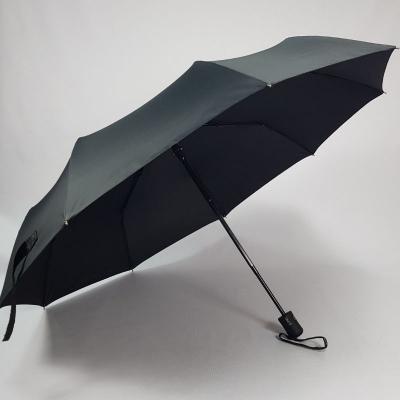 Зонт классический чёрный