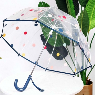 """Детский зонт - трость """"Горошек"""""""