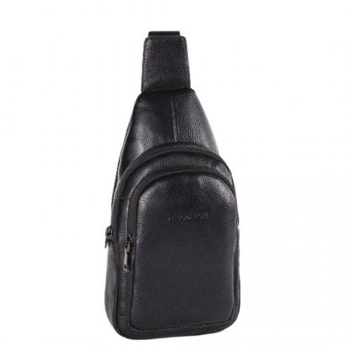 Слинг рюкзак кожаный