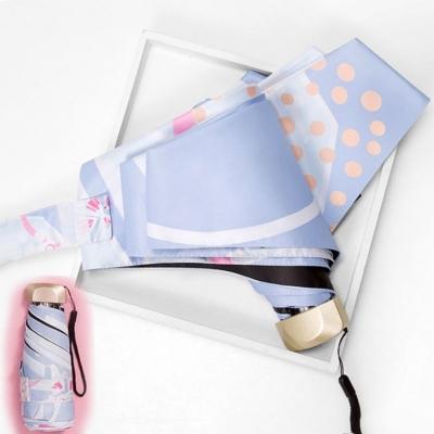 Плоский мини-зонт