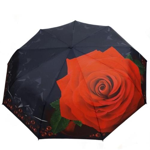 "Зонт-автомат женский ""Роза"""