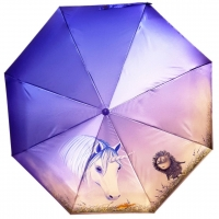 "Зонт-полуавтомат ""Ежик в тумане"" 2747"
