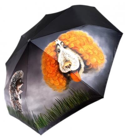 "Зонт-полуавтомат ""Ежик в тумане"""