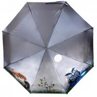 """Зонт-автомат """"Ежик в тумане"""" 2746"""