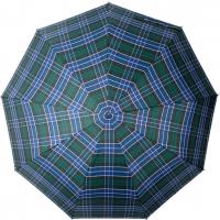 Зонт-полуавтомат в клетку 962