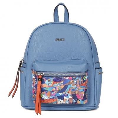 Голубой рюкзак FABRETTI