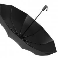 Зонт-автомат черный LN79