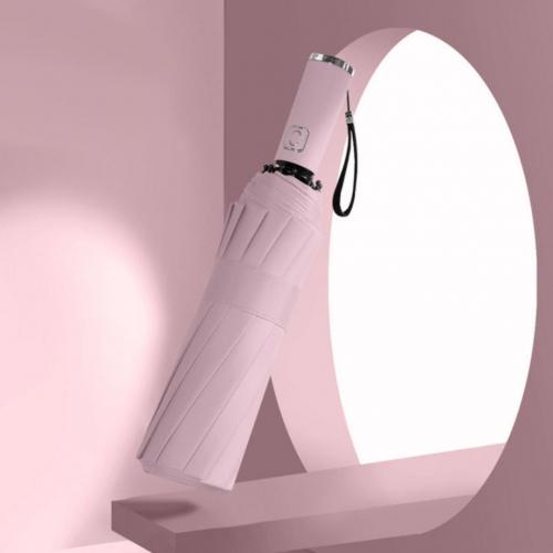 Зонт-автомат розовый