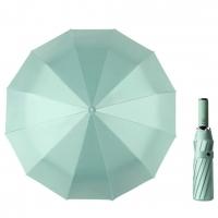 Однотонный зонт-автомат LY23